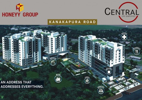 Century Central project details - Kanakapura Road