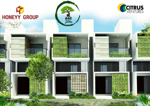 Citrus Zen Garden project details - Jakkur