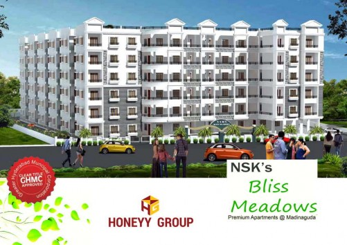 NSK Bliss Meadows project details - Madinaguda