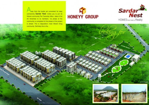 Sardar Nest project details - Kanithi Road