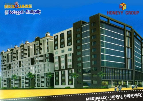 RK Square project details - Medipally