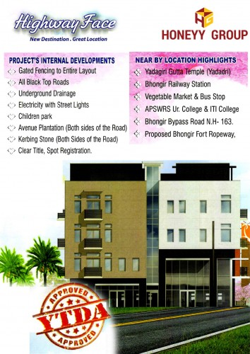 Sukhibhava Highway Face project details - Bhongiri