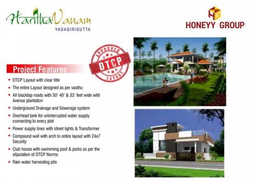 Haritha Vanam project details - Yadagirigutta