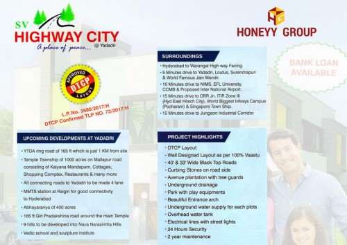 SV Highway City project details - Yadagirigutta