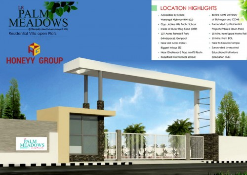 LR Palm Meadows project details - Rampally