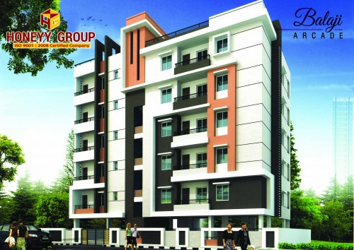 BALAJI ARCADE project details - Madhurawada
