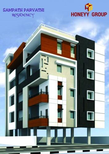 Sampath Parvathi Residency project details - Akkayyapalem