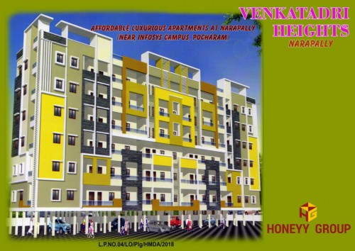Venkatadri Heights project details - Narapally