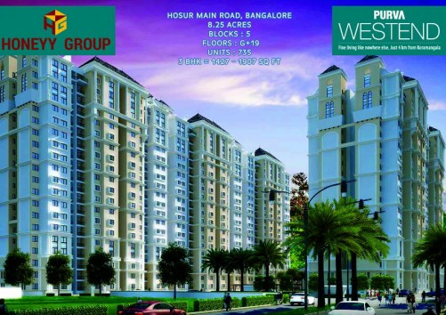 Purva Westend  project details - Hosur Main Road